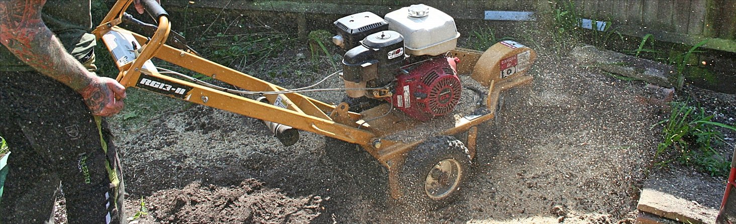 Stump Grinding & Eco Plugging Service